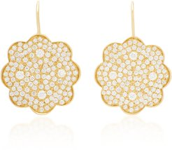 Amelie 18K Gold Diamond Earrings
