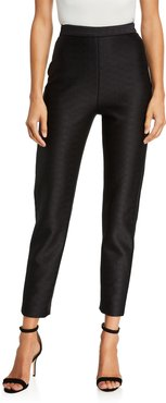 High Rise Cropped Skinny Pants
