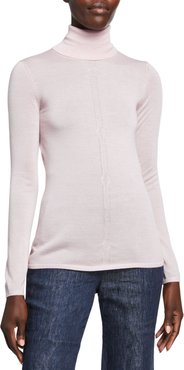 Steinem Cashmere Turtleneck Sweater