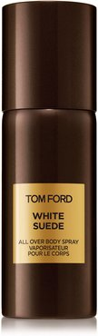 White Suede All-Over Body Spray