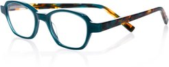 Haute Flash Square Two-Tone Readers