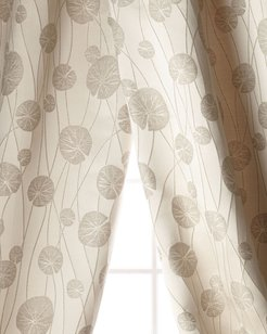 Lily Pad Curtain, 96""