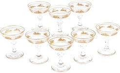 Champagne Coupes, Set of 8