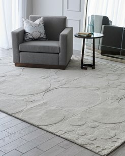 Dots Hand-Tufted Rug, 5' x 8'