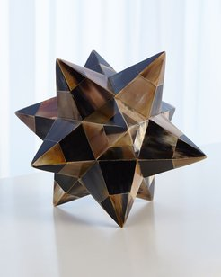 Brown Horn Stellated Dodecahedron