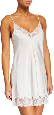 Pick-and-Mix Contrast-Lace Chemise