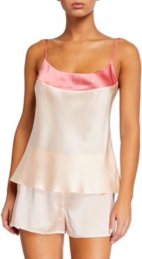 Wide Band Silk Camisole