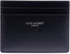 Classic Pebbled Leather Card Case