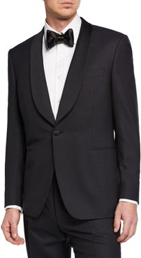 Two-Piece Tuxedo with Shawl Collar