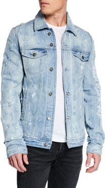 New York Distressed Jean Jacket