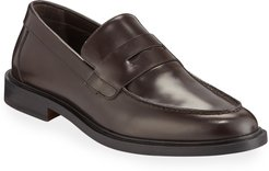 Calf Leather Penny Loafers