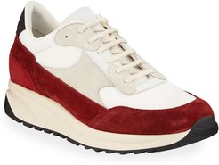 Track Classic Colorblock Suede Sneakers