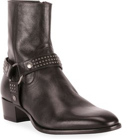 Wyatt Studded Harness Boots