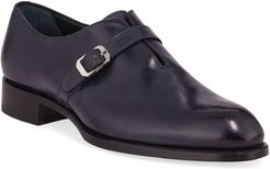 Benedict Monk-Strap Loafers