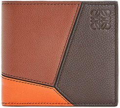 Puzzle Bifold Wallet with Coin Pocket