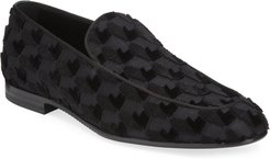 Lido Textured Evening Loafers