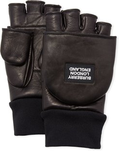 3-in-1 Lamb Leather Gloves