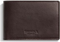 Super Slim Two-Tone Leather Bifold Wallet