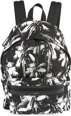 Two-Tone Palm Tree Backpack