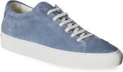 Achilles Suede Low-Top Sneakers
