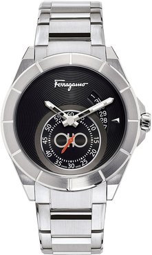 43mm Sub-Second Stainless Steel Watch