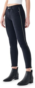Florence Crop Mid-Rise Skinny Jeans
