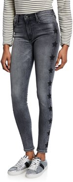 Gisele High-Rise Super Skinny Jeans with Stars