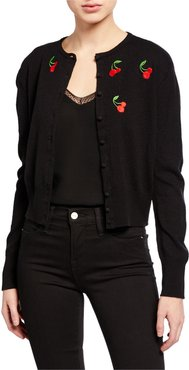 Laura Embroidered Cardigan