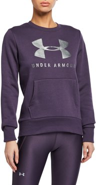 Rival Fleece Sweatshirt, Purple