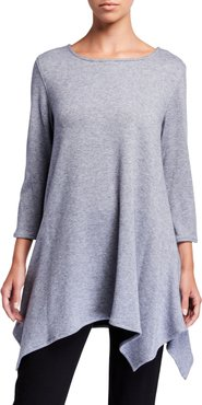 Gemini Cozy Knit Swing Tunic