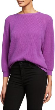 Cramy Cashmere Twist-Back Sweater