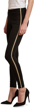 Raquel Metallic Tuxedo Stripe Leggings