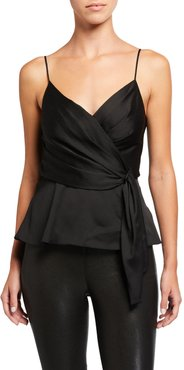 Nile Draped Sleeveless Top