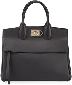 Studio Medium Leather Satchel Bag