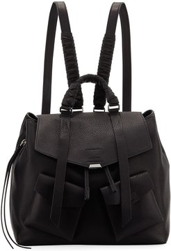 Shirley Leather Flap Backpack