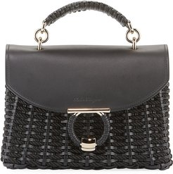 Margot Gancio Vela Soft Cord Satchel Bag