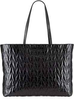 Shine Trapuntato Large Tote Bag