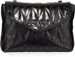 Small Vitello Shine Shoulder Bag