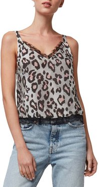 Temescal Printed Cami with Lace