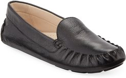 Evelyn Leather Moccasin Drivers