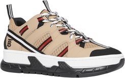 Union Low Mixed Platform Sneakers