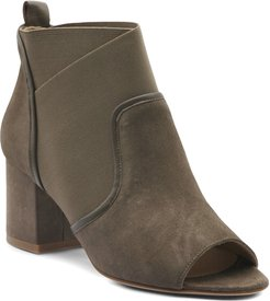 Napa and Stretch Ankle Booties