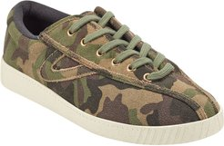 Nylite 29 Plus Camo-Print Suede Sneakers