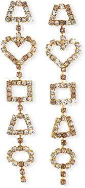 Janie Linear Crystal Earrings