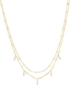 Dani Crystal-Layered Necklace