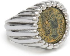 Constantine Coin Ring, Size 6
