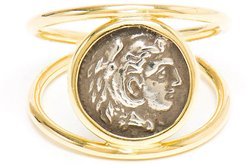 18k Alexander the Great Ring, Size 5.75-6.75
