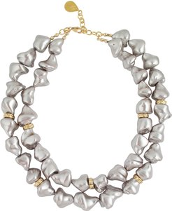 Pearly 2-Strand Necklace