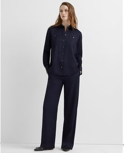 Navy Night Soft Carpenter Pant in Size 12