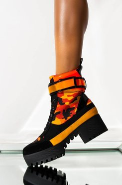 AKIRA Nothing But The Best Flatform Boot